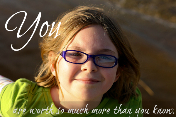 Teaching Self Worth To Our Children