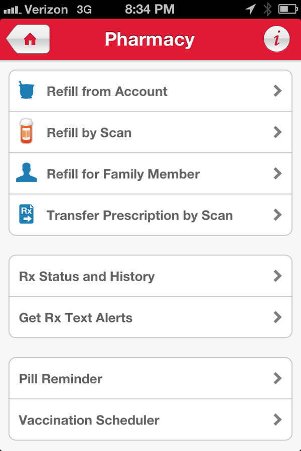 Walgreens Shopping App Pharmacy
