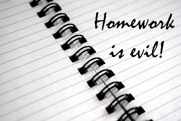 Homework is evil! What are your tips for dealing with the problem?