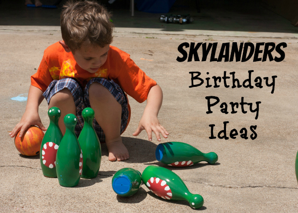 skylanders birthday party ideas,