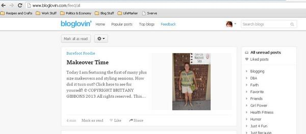 Alternatives to Google Reader - Bloglovin'