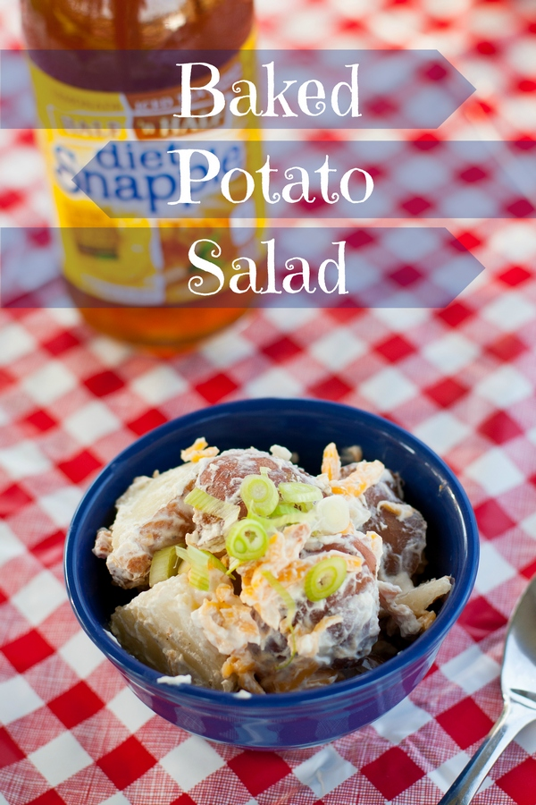 Baked Potato Salad, Snapple half and half, recipe, food, around the house, homebody, lemonade, ice tea, Snapple, sweet tea, real facts, summer drinks, snapple facts, snaptea