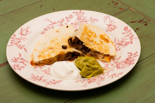 Beef and Black Bean Quesadillas, A quick and easy weeknight dinner, Recipe, What's for dinner