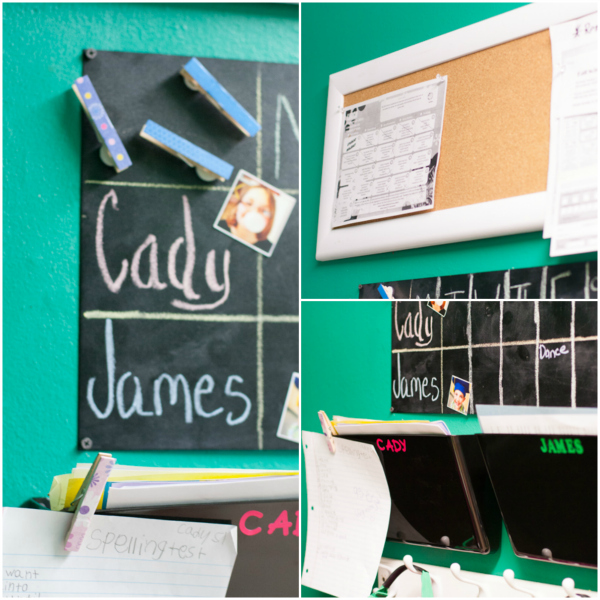 Command Center, Back to School, Organizing and Storage, DIY, Craft Project, Parenting, Children, Being a Mom