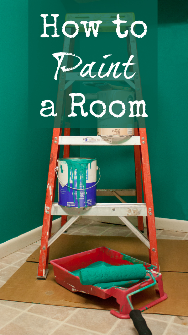 Supplies For Painting A Room how to paint a room - basic instructions and tips