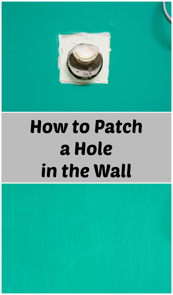 how to patch a hole in the wall home improvement project diy around. Black Bedroom Furniture Sets. Home Design Ideas