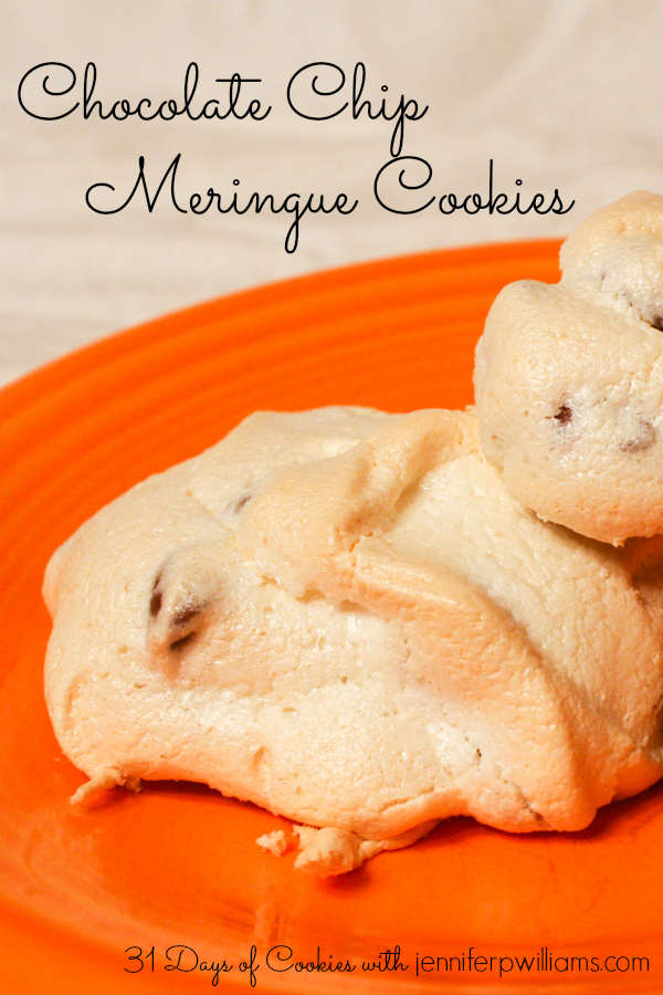 Miss Meringue Chocolate Chip Cookies