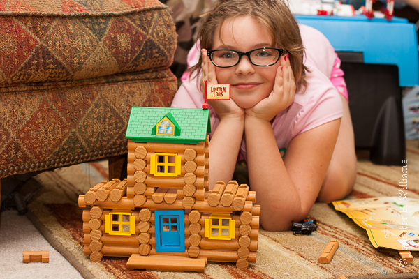 Timeless Toys: Lincoln Logs are a building toy that is fun for all ages.