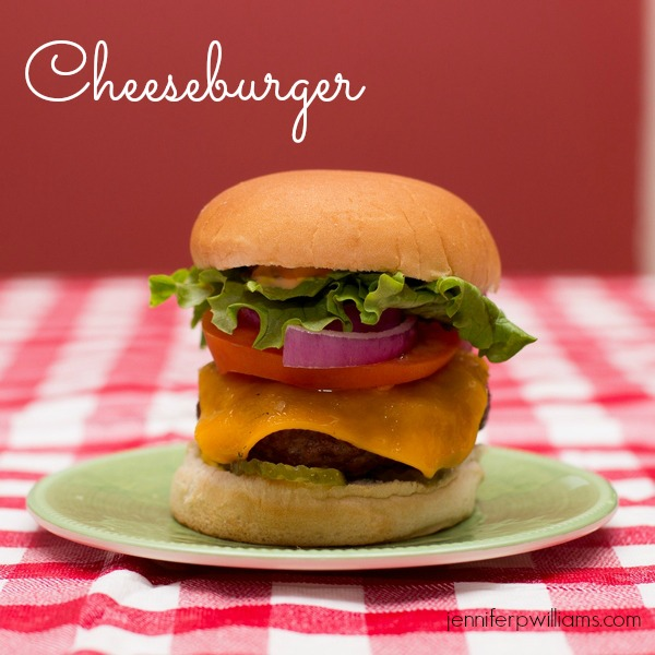 Cheesburgers are always a hit for an easy weeknight meal.