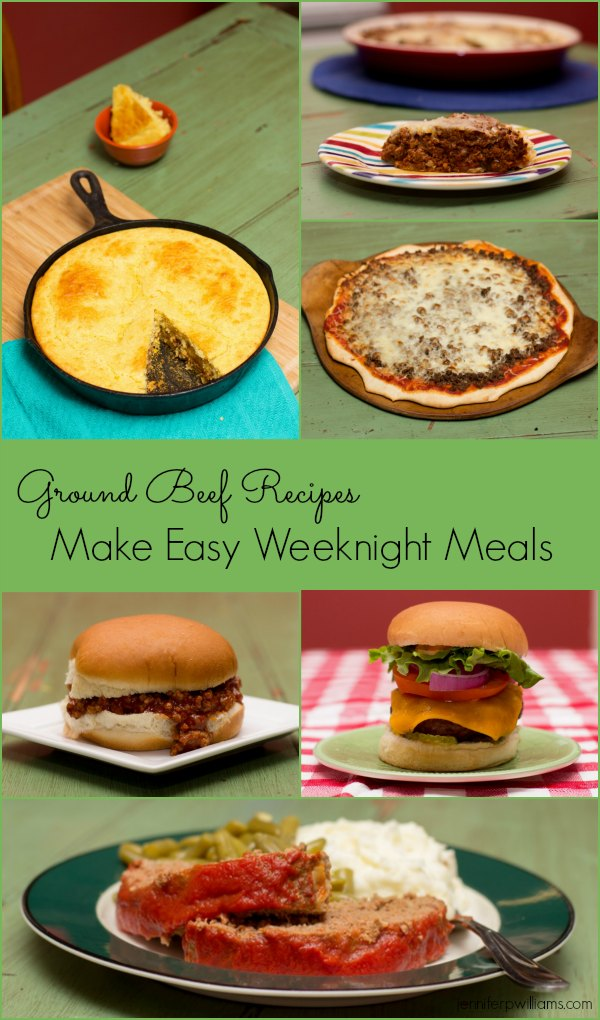 Easy meals and recipes for What to make with hamburger meat for dinner