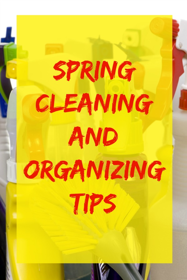 Spring Cleaning and Organizing tips from LG home economist Laura Johnson.
