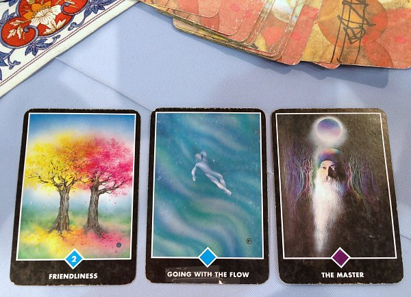My story of my visit to three psychics. What is in your cards?