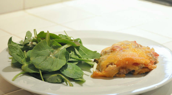King Ranch Casserole is a makes a tasty dinner.