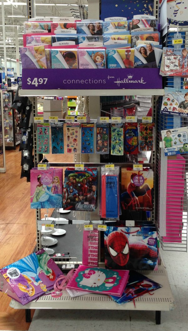 Hallmark cards for kids that turn into posters can be found at Walmart. #kidscards #collectivebias