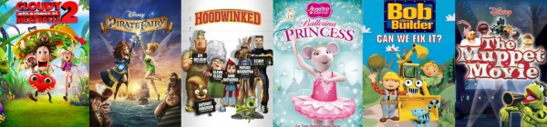Why I Love Netflix - Movies and programs to share with younger kids for family time.