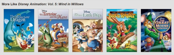 Why I Love Netflix - Recommendations based on what you like and dislike.