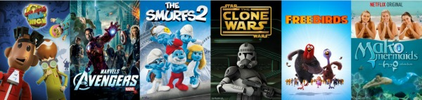 Why I Love Netflix - Movies and programs to share with the tween and younger teen age group for family time.