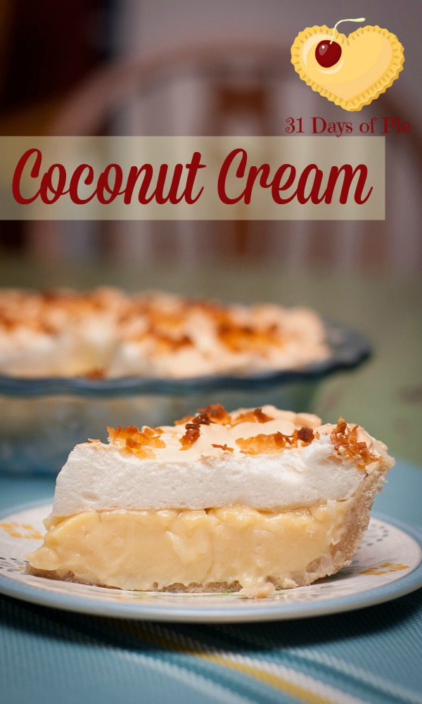 My grandmother's Coconut Cream Pie Recipe is delicious perfection.