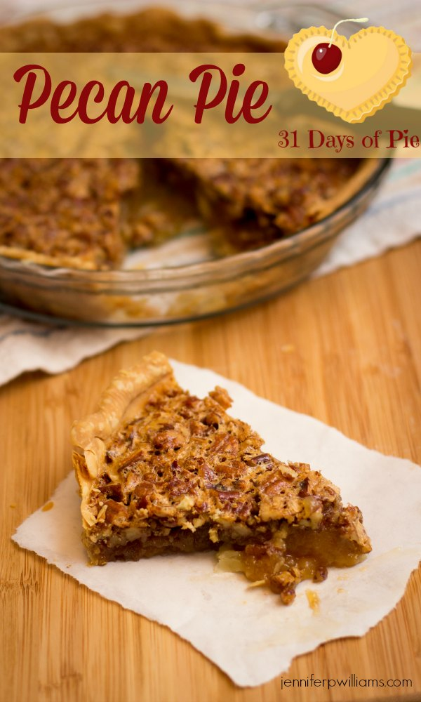 My husband says this easy pecan pie recipe is better than his mother's.