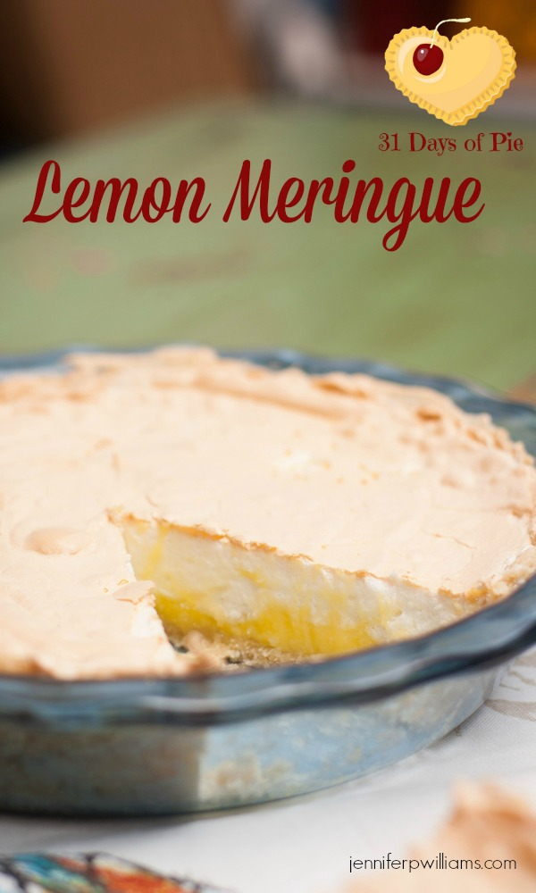 Lemon Meringue Pie is tart and delicious.