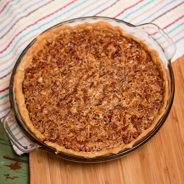 The perfect pecan pie uses simple, quality ingredients.
