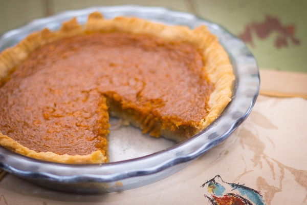 31 Days of Pie - Sweet Potato Pie-3