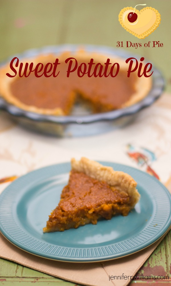 My husband swears his mom made the best Sweet Potato Pie. Here's her recipe.