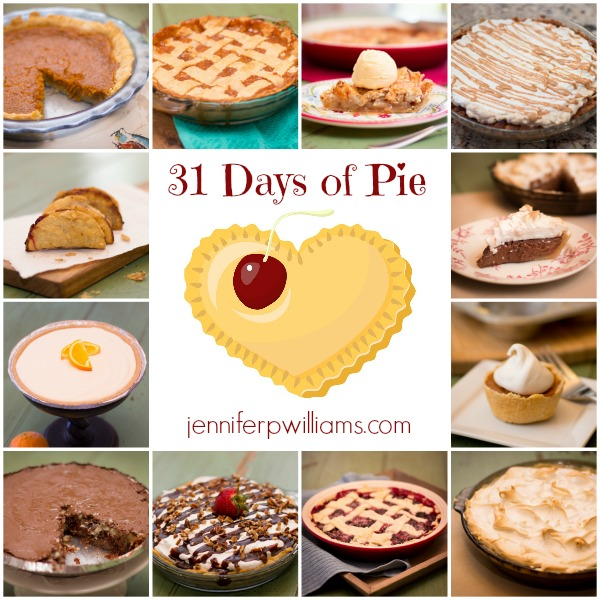 31 Days of Pie is a month long series featuring pie recipes and baking tips.