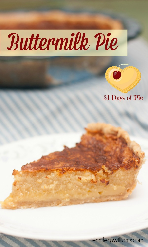 Brown-Sugar Buttermilk Pie Recipe — Dishmaps