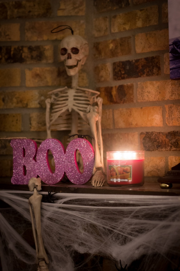 Candles are a great addition to your Halloween decorations.