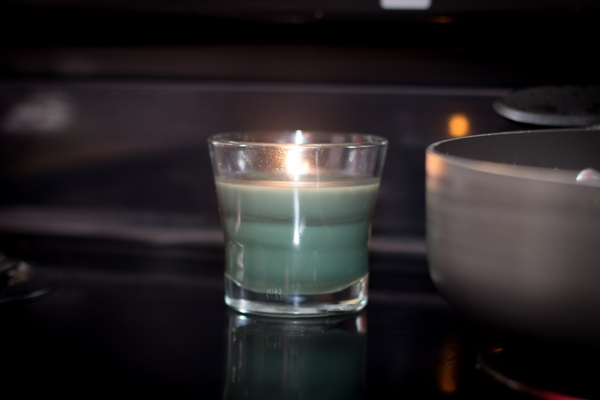 Candles help your house smell clean.