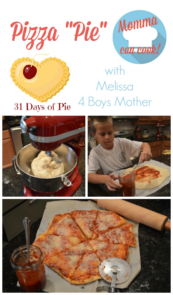 Kids love to help make this easy pizza pie dough recipe.