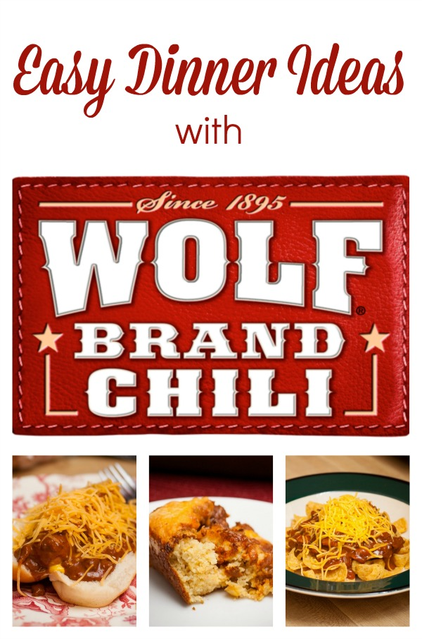 Easy Dinner Ideas with Wolf Brand Chili