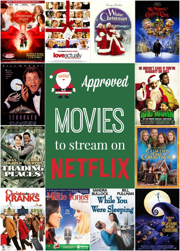The best Christmas movies to stream on Netflix.