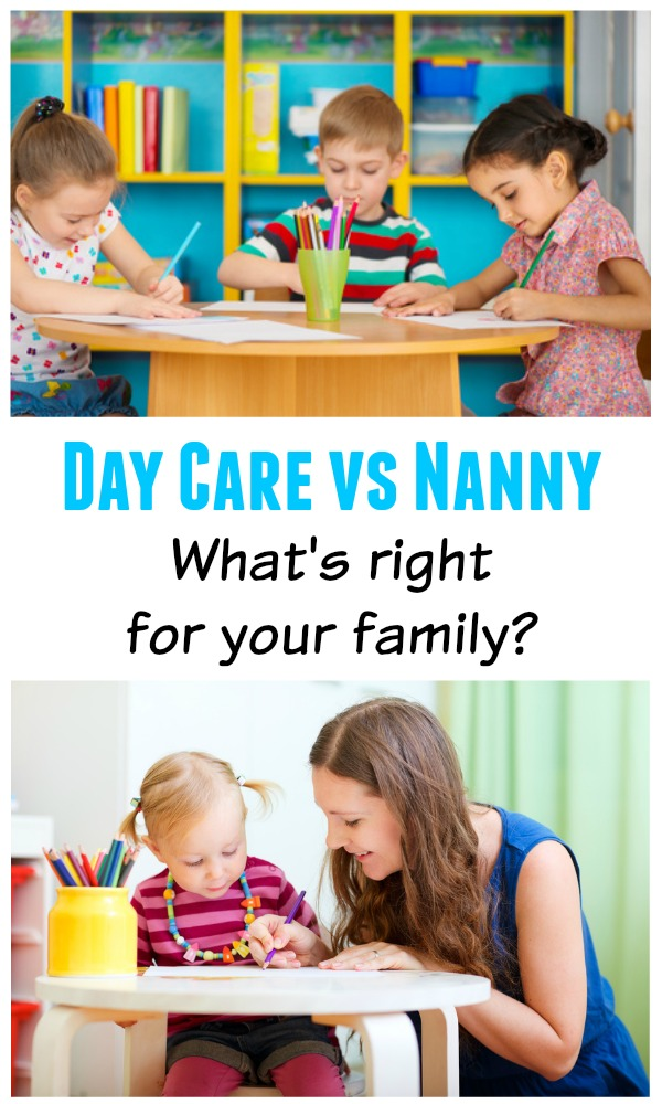 Working Mom Childcare Decisions - Day Care vs Nanny, which option is best for your family?