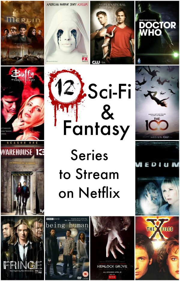 Sci-Fi and Fantasy Series to Stream on Netflix