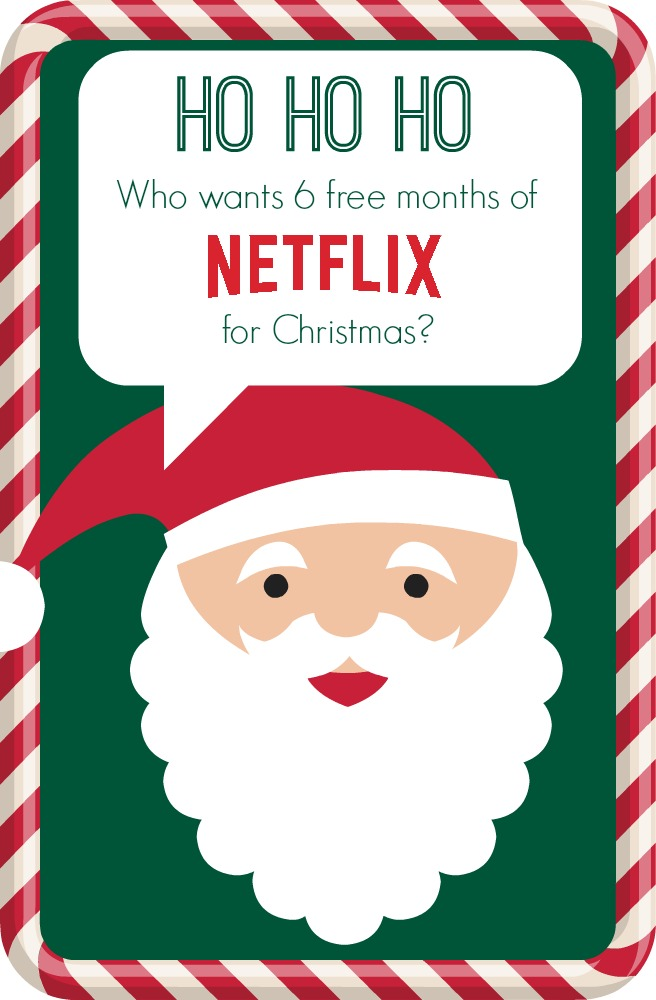 Win 6 months of Netflix Steaming!
